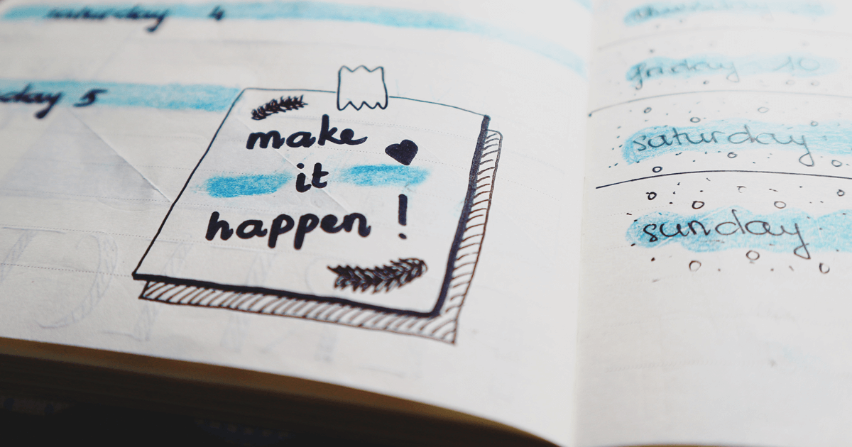 make it happen 2018 business plan